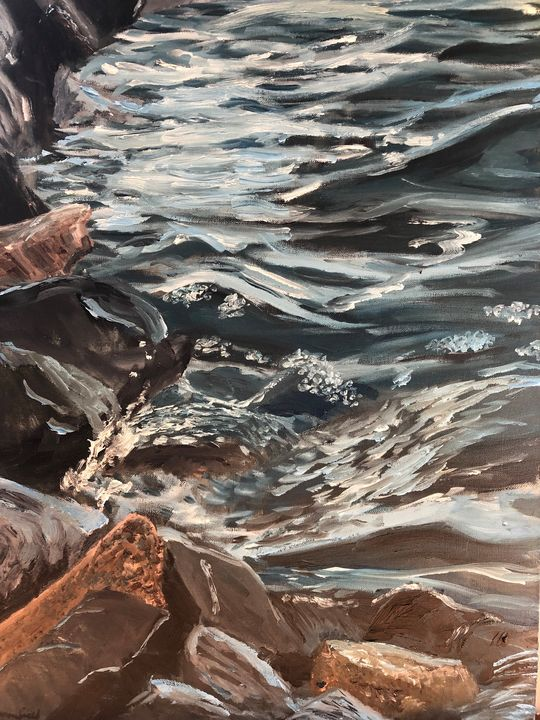 Rocks and Water - Blandine Broomfield