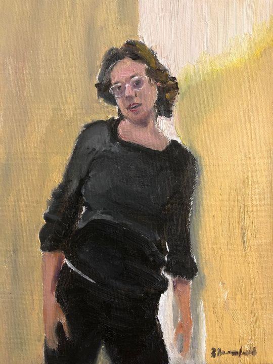 Anna in the Foyer - Blandine Broomfield