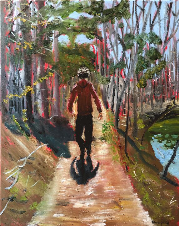 Cordell by Misty Lake - Blandine Broomfield