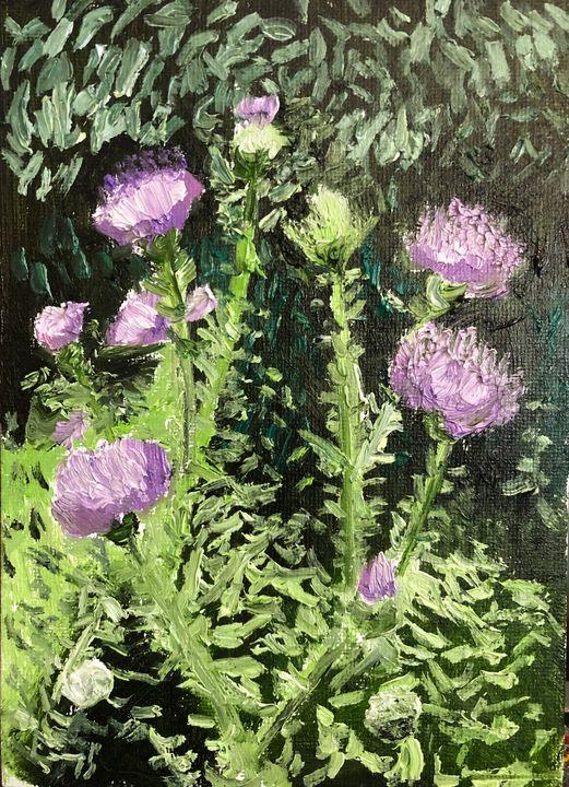 Thistles - Blandine Broomfield