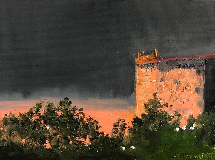 Sunset on the Live Hotel - Blandine Broomfield