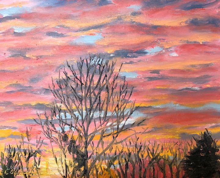 Hanover Sunset - Blandine Broomfield