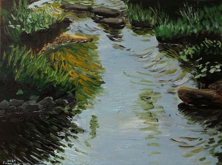 The Ides of May on Stony Run - Blandine Broomfield