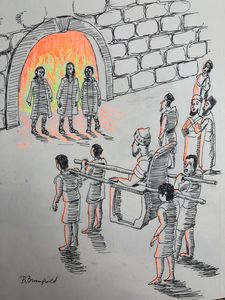 On Whose Bodies Fire Had No Power
