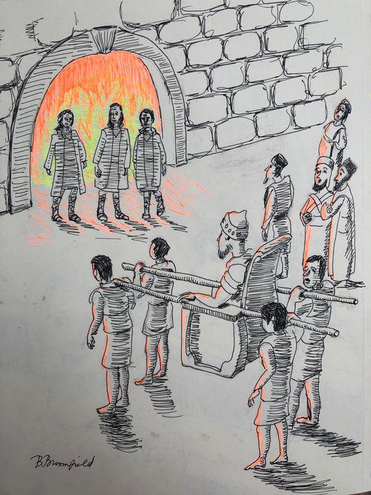 On Whose Bodies Fire Had No Power - Blandine Broomfield