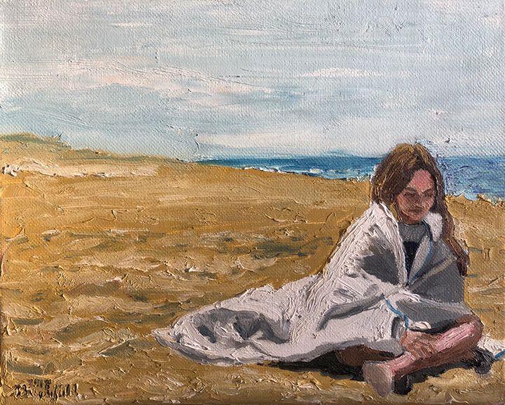 Spring Beach - Blandine Broomfield