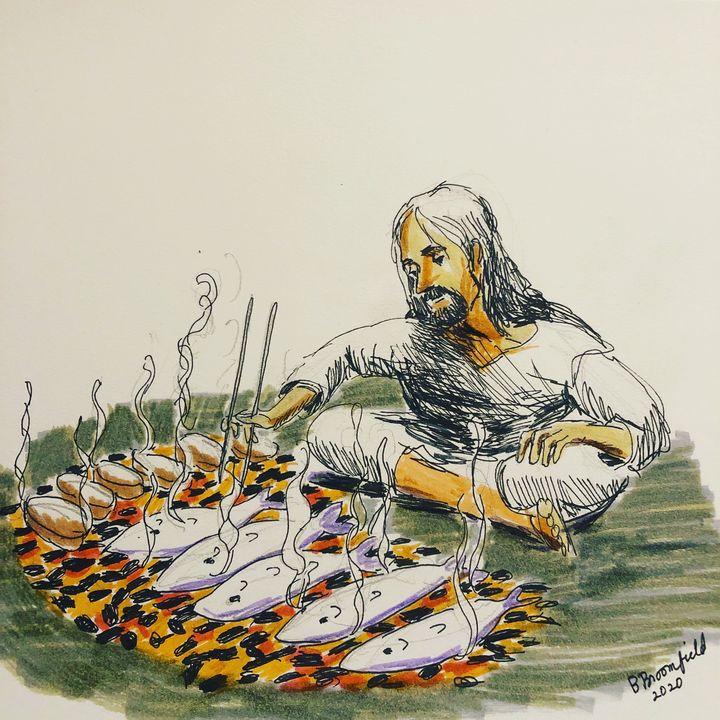 Jesus Makes a Big Breakfast - Blandine Broomfield