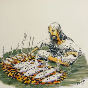 Jesus Makes a Big Breakfast