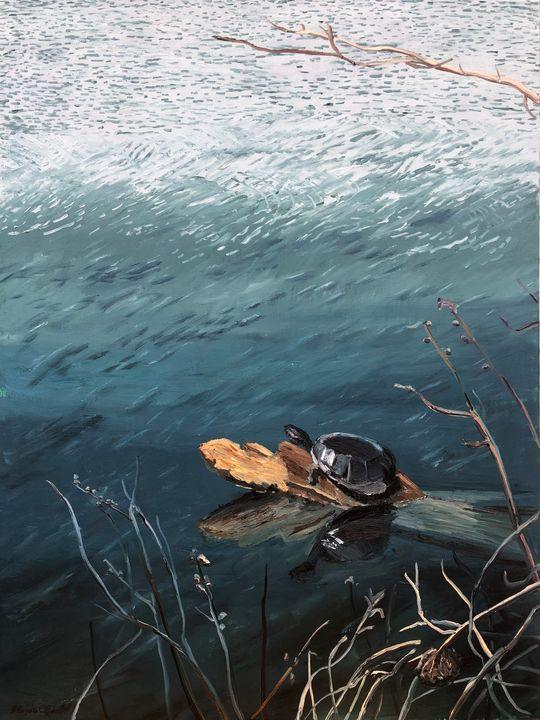 A Log to Himself - Blandine Broomfield