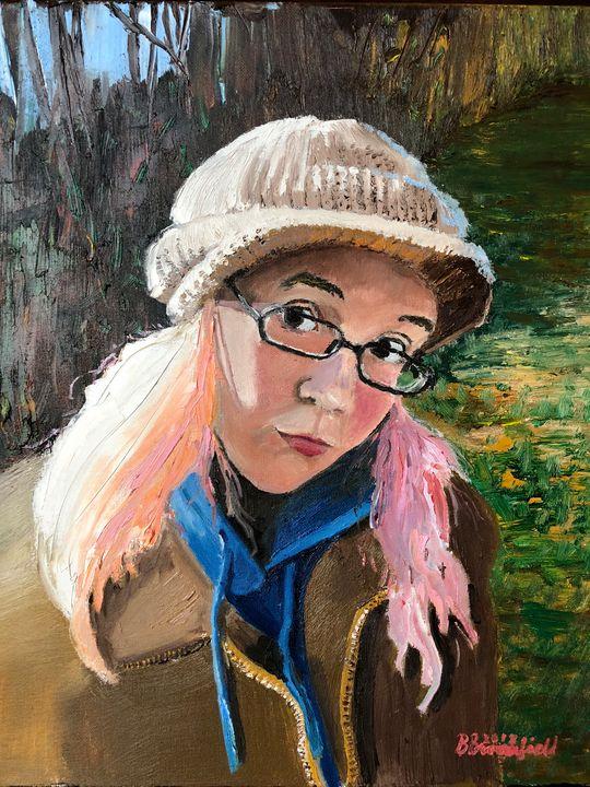 Anna When Her Hair Was Pink - Blandine Broomfield