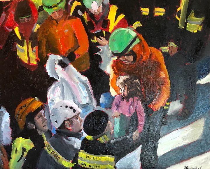 Rescuing the Little Girl - Blandine Broomfield