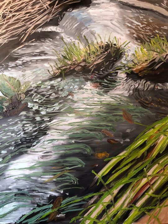 The Stream on Christmas - Blandine Broomfield