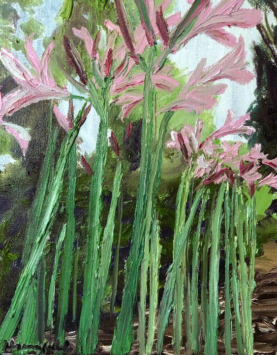 Naked Ladies Lilies - Blandine Broomfield