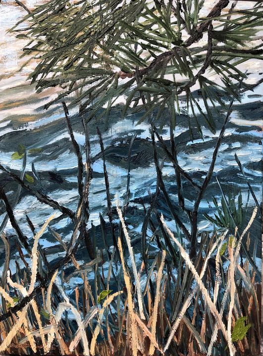 Grasses with a View - Blandine Broomfield