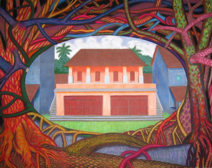 Puparium vision of past time - Anto George