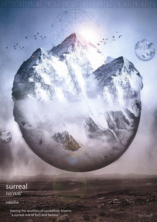 Surreal Mountains - Satori Graphics