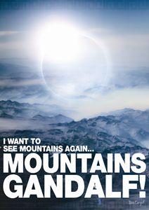 Mountains Gandalf
