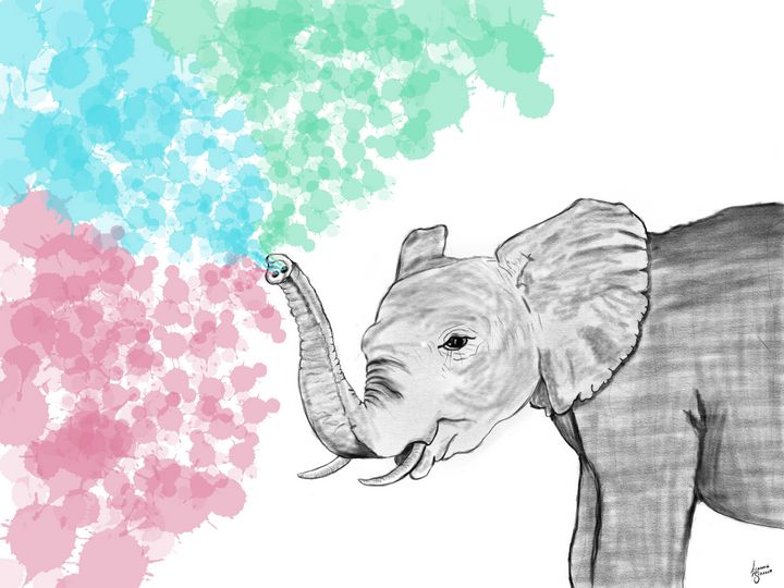 Ele'paint' - Leanne