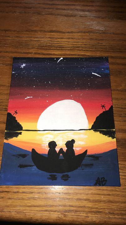 Lovers in Moonlight - Amber Barnes