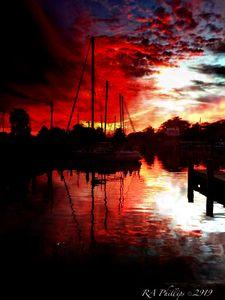 Sunset Florida Gulf Coast