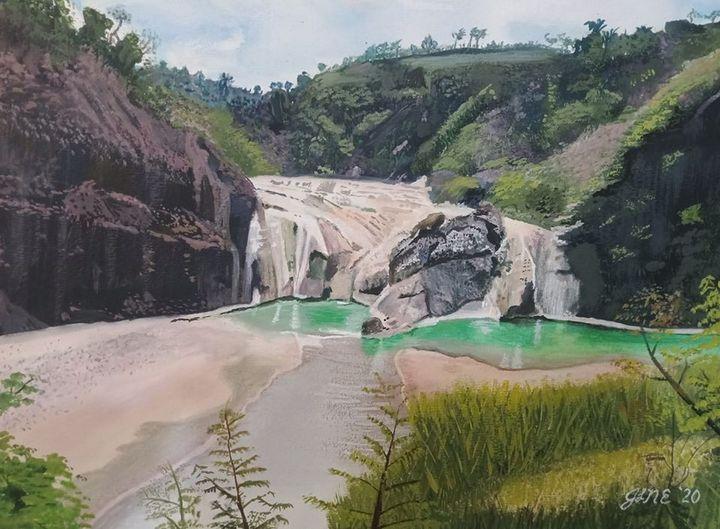 Pinsal Falls - Janelle N. Estolonio