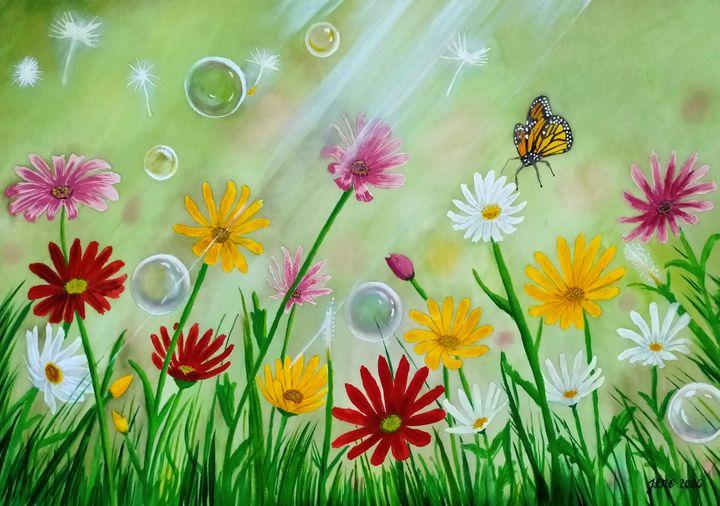 Daisies 1 - Janelle N. Estolonio