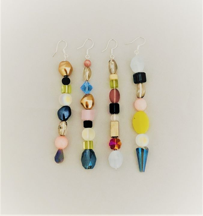 sand & sea collection earrings - jems by mod