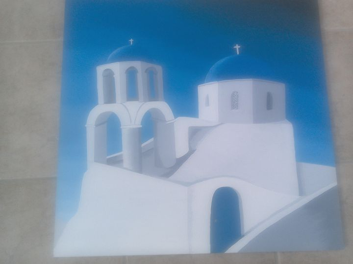 Church on hill - Alanswork