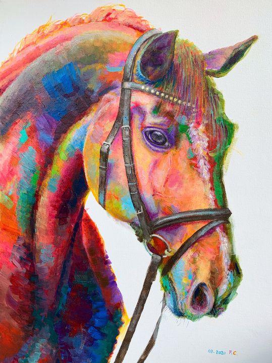 Horse - Fred Ci Art