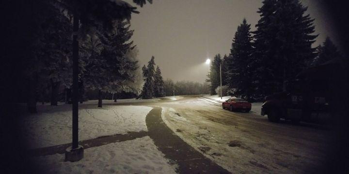 A winters night - Alyssa