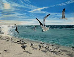 Fort Walton beach #1 - Art by Lisa Isom
