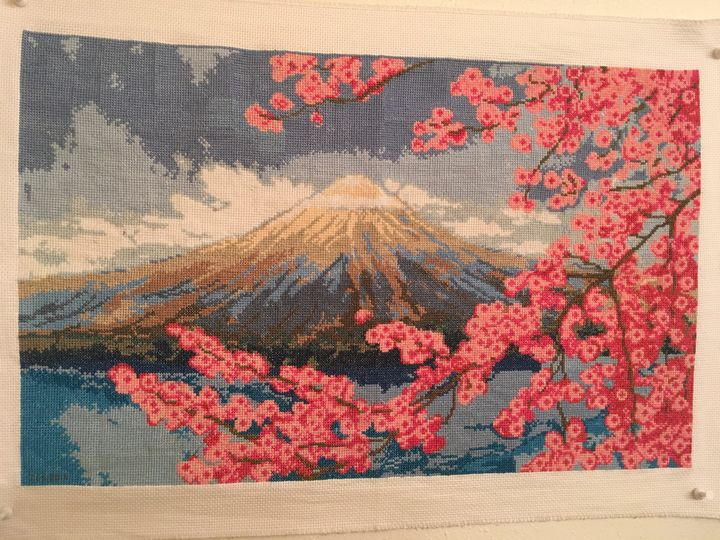 Mount Fuji - A Stitch In Time