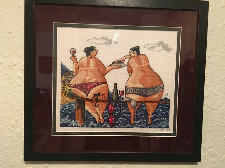 Fat bottomed girls - A Stitch In Time