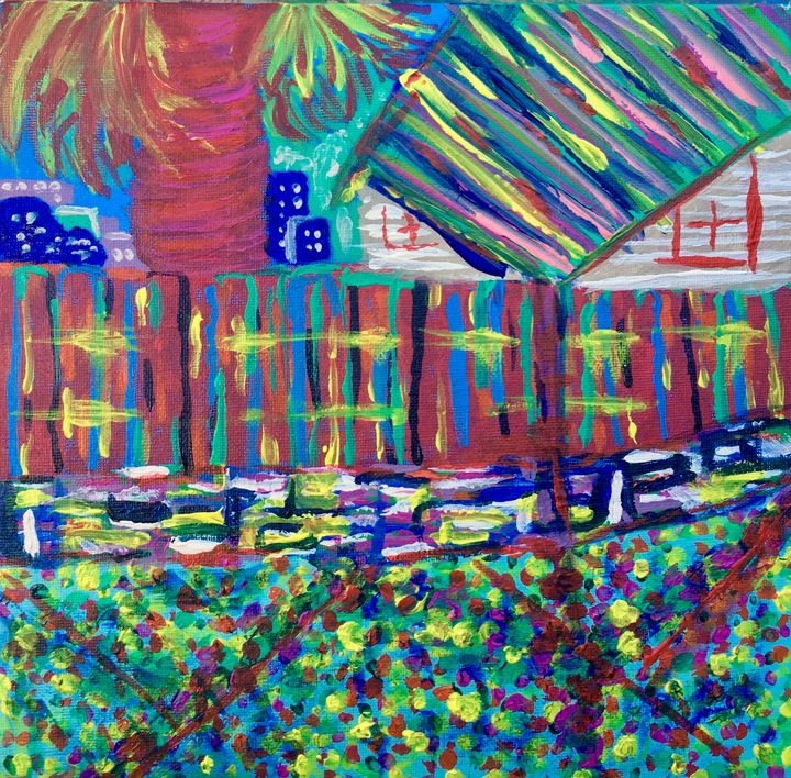 """""""A View From The Backyard"""" - Anthony Fant"""