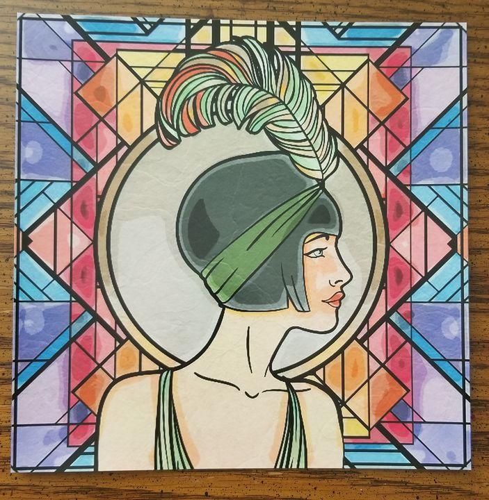 POP ART PHOTO PRINT 1920s - Aerie Art