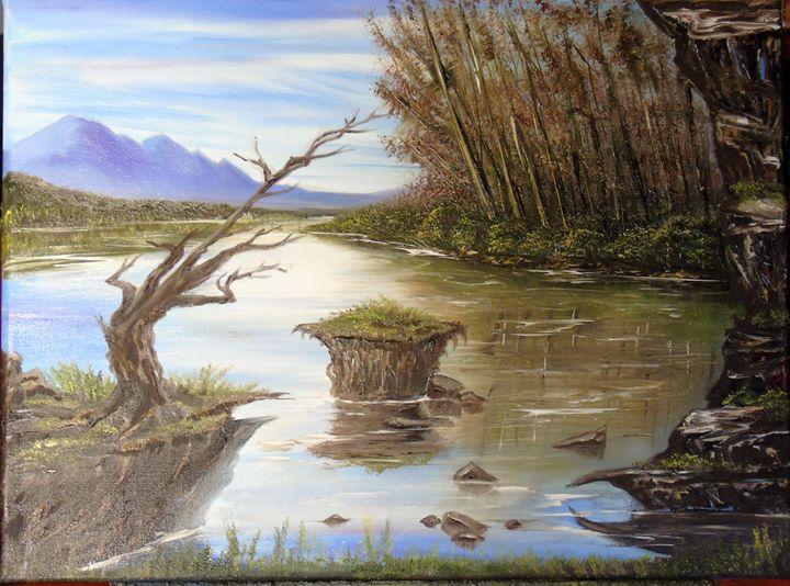Blue Hillies - Ingoart