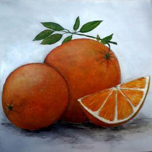 Веселый апельсин.