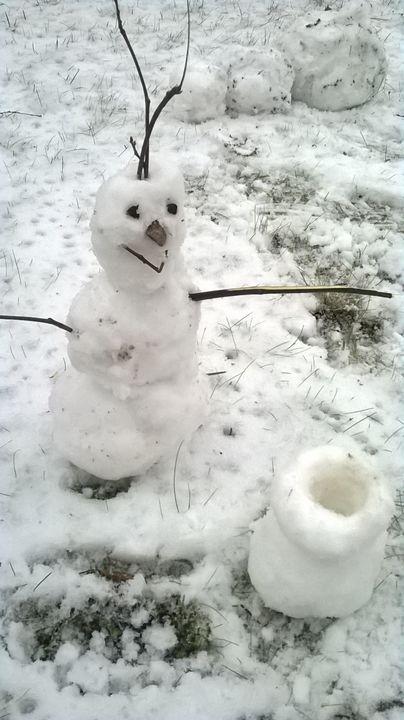 Snow man - Pompula