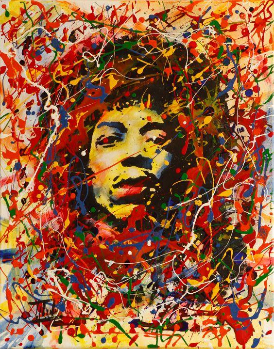 Jimi Hendrix - Jaroslaw Glod