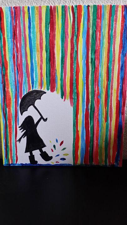 GIRL IN THE RAIN - Lija augustine