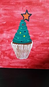 MUFFIN X'MAS TREE