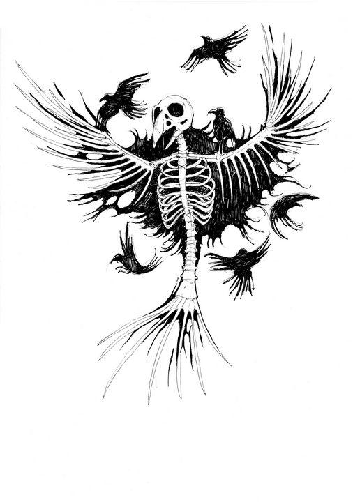 Crow wraith - Widok