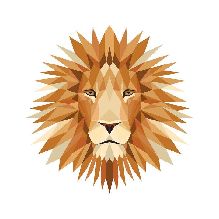Lion 1:1 white - Widok