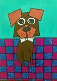 fun dog art