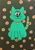 fun cat art