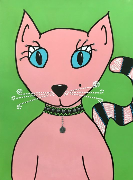 Princess Penelope - fuzzies pet art