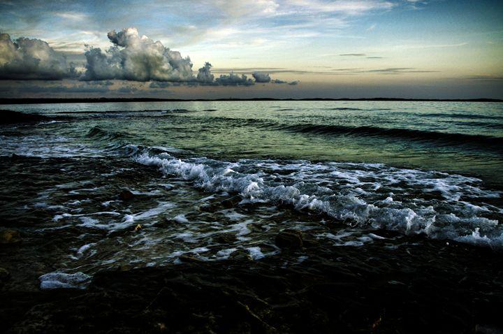 Meditative Seascape - Lothar Boris Piltz