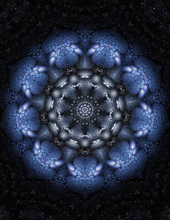 Blue Mandala - Lothar Boris Piltz