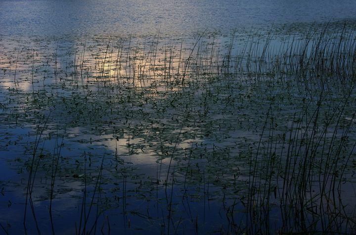 Sunset Lake - Lothar B. Piltz