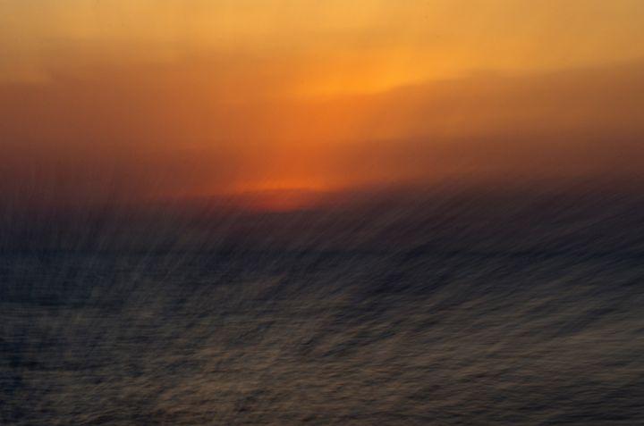 Abstract Sunset - Lothar Boris Piltz